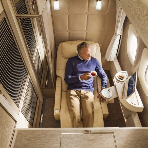 New Emirates First Class Suites