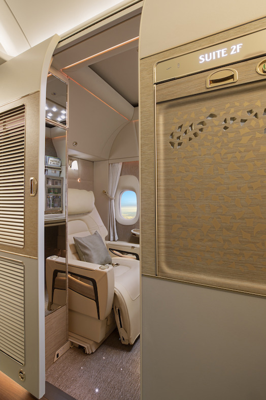 First Class Fully Enclosed Private Suites