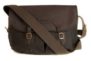 Barbour Wax Leather Tarras Bag in Best Business Travel Cabin Luggage | Business Travel Blog