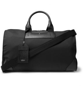 Montblanc Sartorial Jet Duffle Bag in Best Business Travel Cabin Luggage | Business Travel Blog
