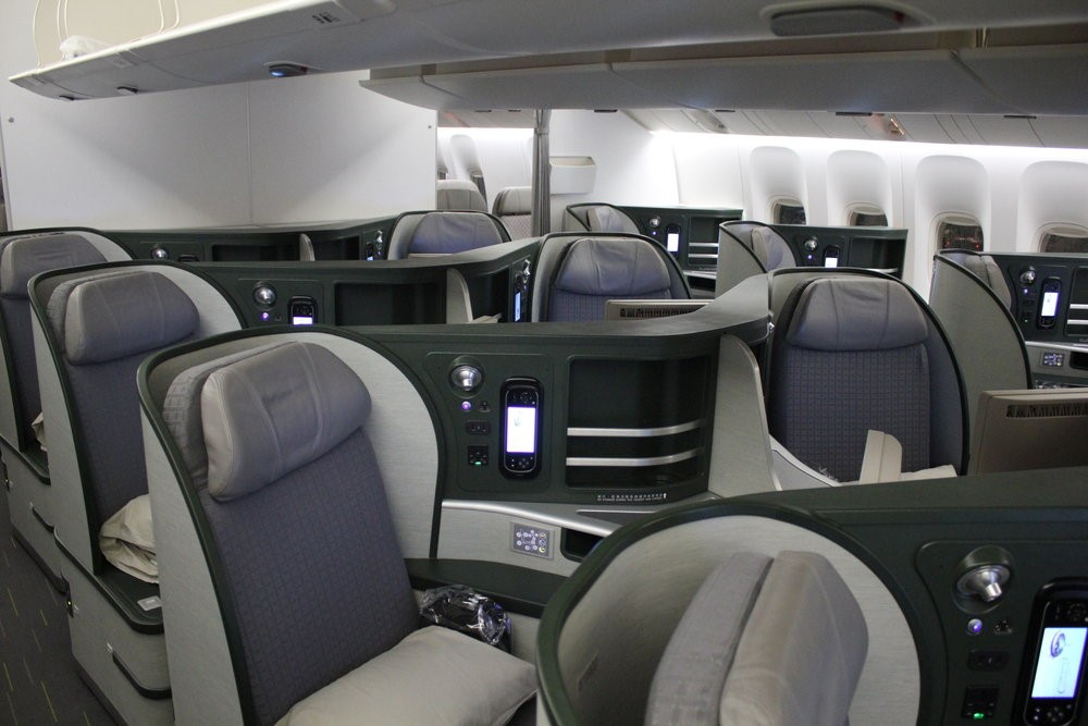 EVA Air Business Class
