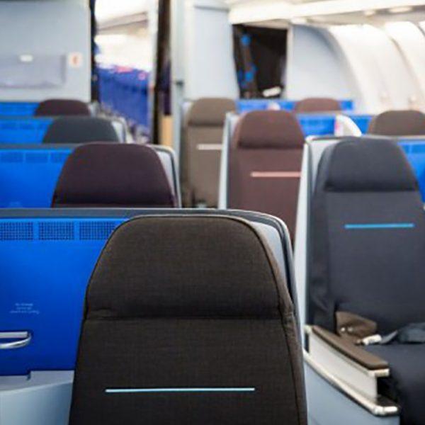 KLM World Business Class cabin