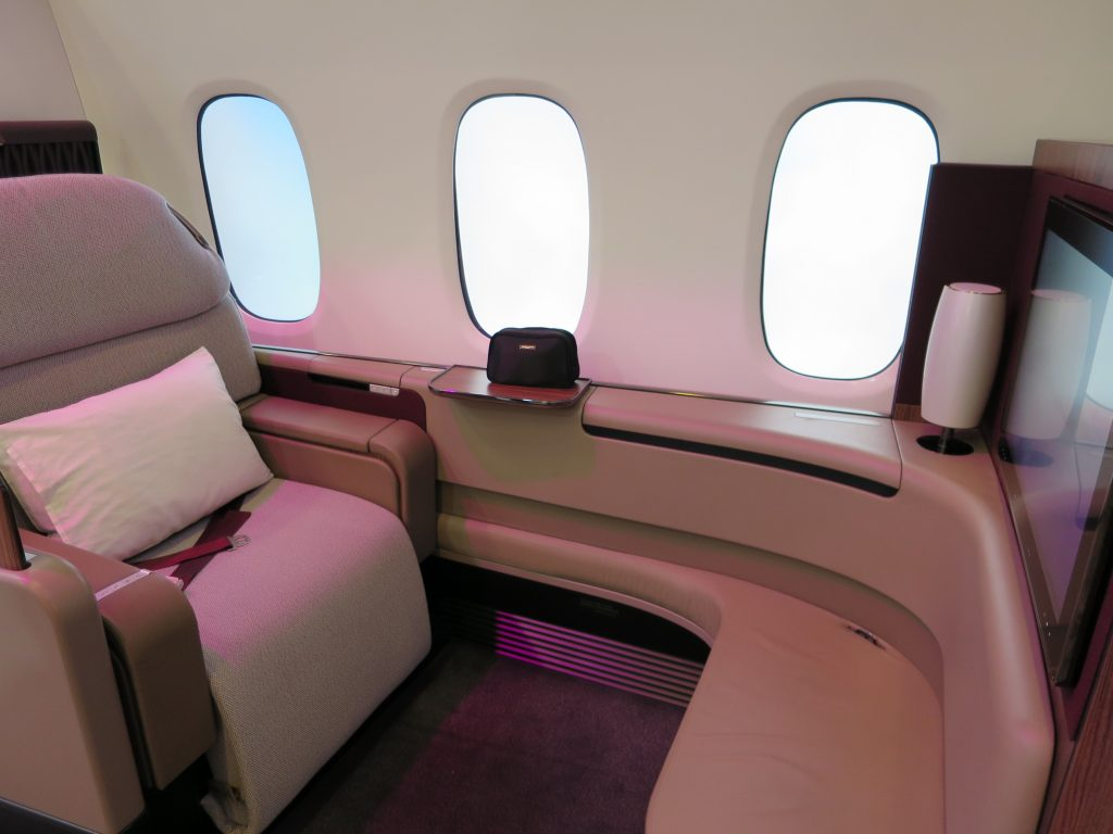 Qatar Airways First Class A380