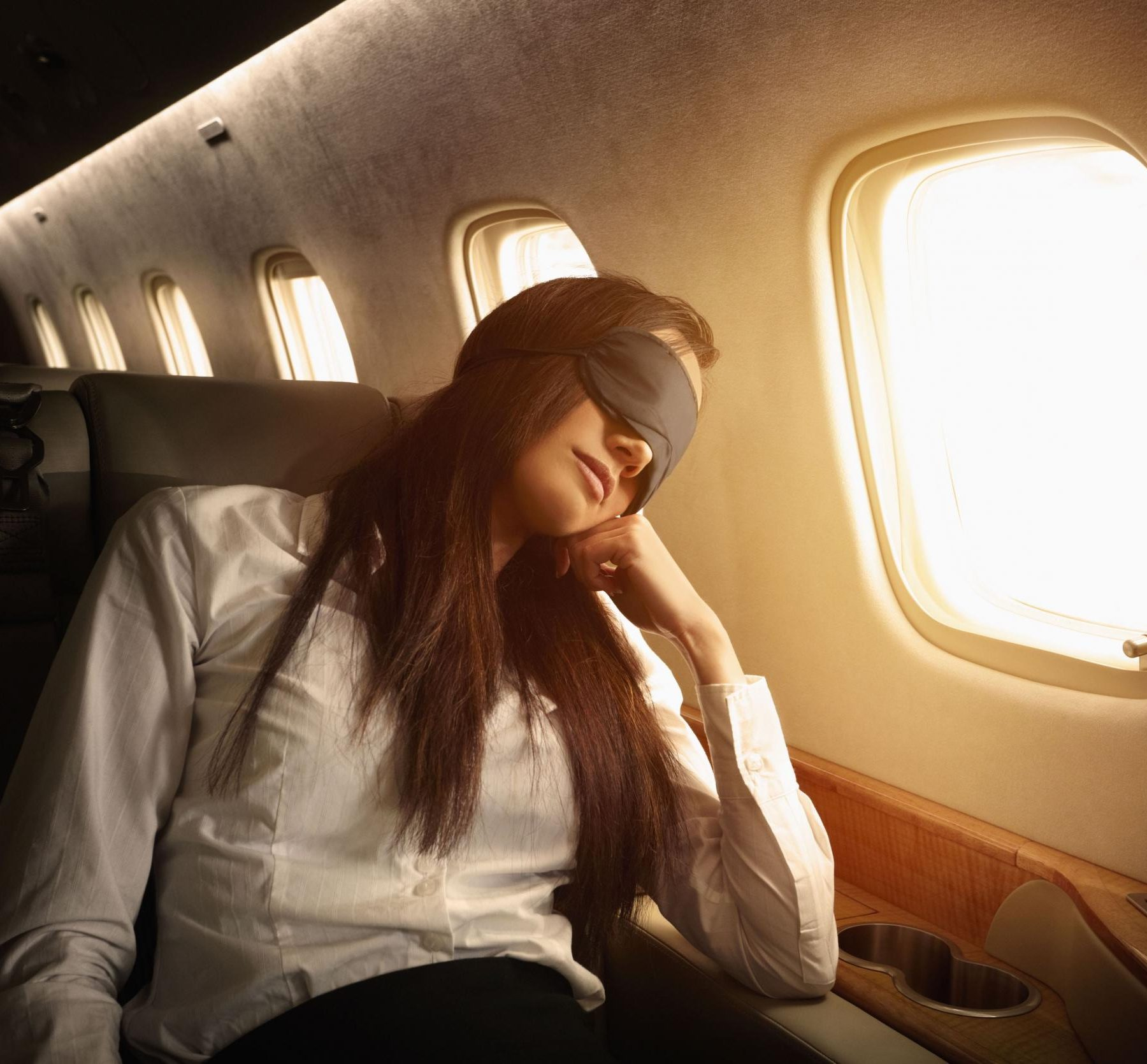 The Secrets to Getting a Good Night's Sleep on a Long Haul Flight Image