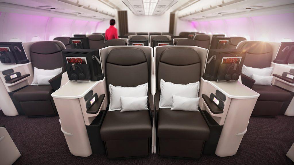 Virgin Atlantic's Revamped A330-200's
