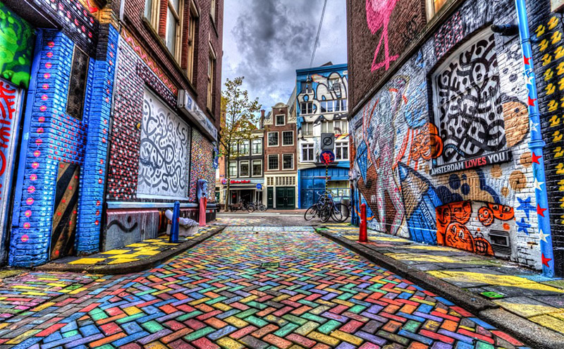 Street Art in Amsterdam