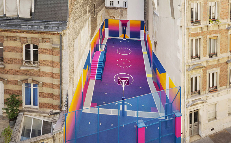 Pigalle Basketball Court, Paris