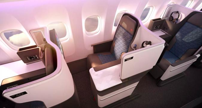 Deltan Business Class 767