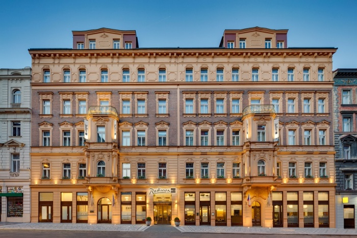 New Radisson Blu Prague