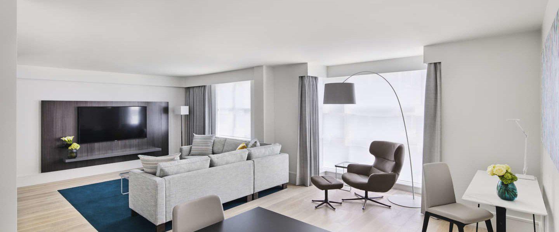 COMO Metropolitan Residences Living Area