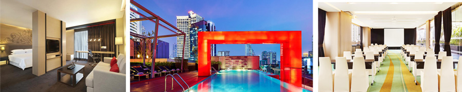 Business hotel Bangkok - Four Points by Sheraton Bangkok