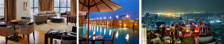 Business hotel Bangkok - lebua Bangkok