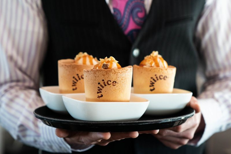Edible Coffee Cups