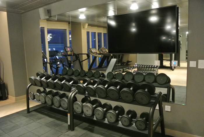 Gym at The Stratford