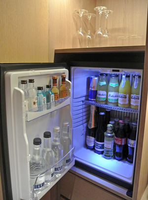 Mini Bar at The Stratford Hotel