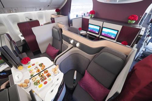 Qatar A350 Qsuite