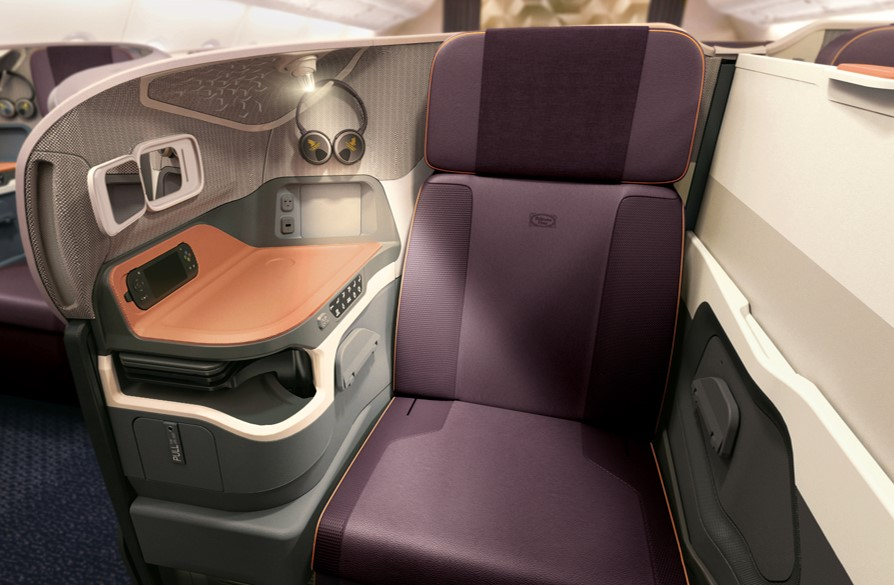 Singapore Airlines new A380 Business Seat