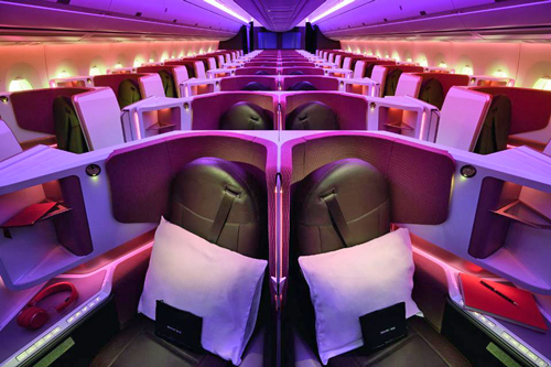 Virgin Atlantic A350 Upper Class