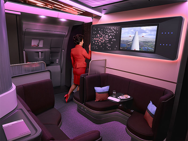 Virgin Atlantic A350 The Loft